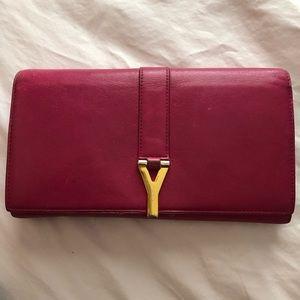 Authentic Pink Saint Laurent Wallet ✨